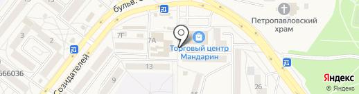 Cosmetica маркет на карте Шелехова