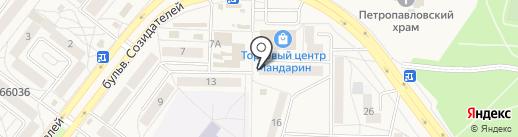 Агентство кадастровых работ на карте Шелехова