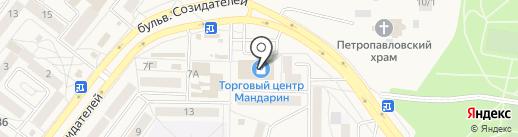 Компьютерная фирма на карте Шелехова