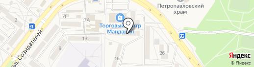 ПроБа на карте Шелехова