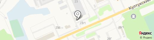 Саянский бройлер на карте Шелехова