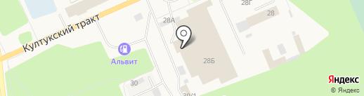 Авалон на карте Шелехова