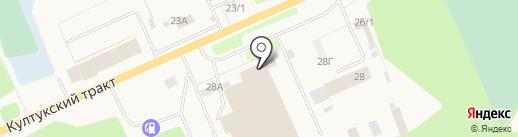 Тахограф-Сервис на карте Шелехова