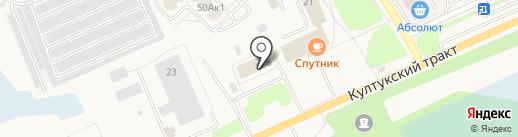 Полиграфист на карте Шелехова