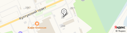 ДЕКОР на карте Шелехова
