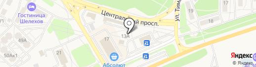 Бартер на карте Шелехова
