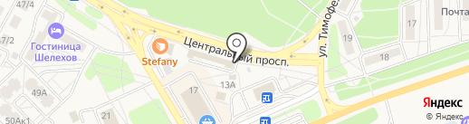 Двери под ключ на карте Шелехова