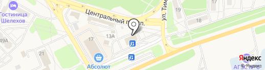 СБАРРО на карте Шелехова