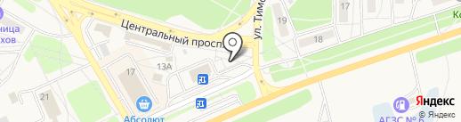 Мастерская по ремонту обуви и изготовлению ключей на карте Шелехова
