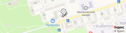 Городская баня на карте Шелехова