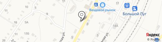 Ольга на карте Большого Луга