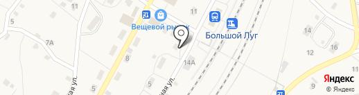 Шиномонтажная мастерская на карте Большого Луга