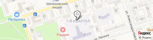 Сказка на карте Шелехова
