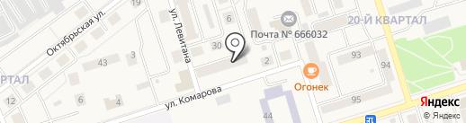 Мастерская по ремонту обуви на ул. 20-й квартал на карте Шелехова