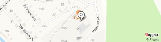 Магазин пиломатериалов на карте Большого Луга
