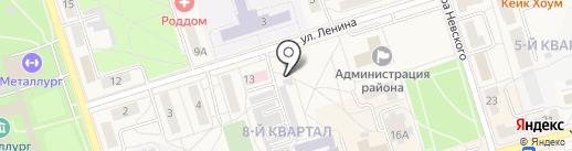 Садко на карте Шелехова