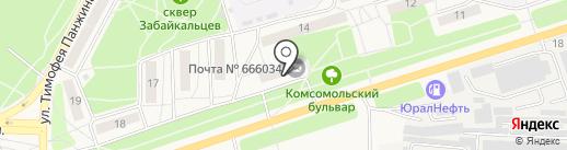 Система Город на карте Шелехова