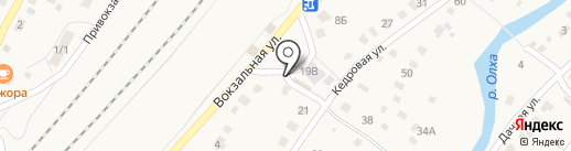 Продуктовый магазин на карте Большого Луга
