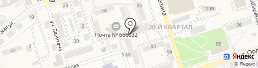 Все по 99 на карте Шелехова