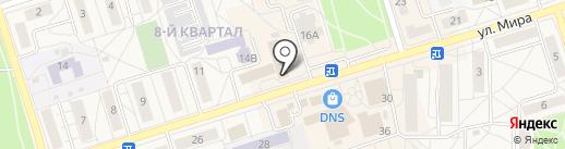 Квадрат на карте Шелехова