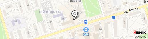Сеть платежных терминалов, Сбербанк, ПАО на карте Шелехова