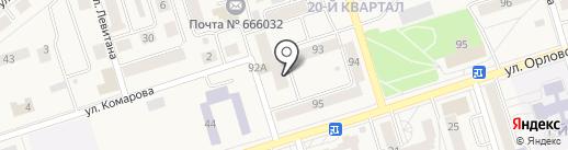 Багира на карте Шелехова