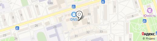 Магазин мяса на карте Шелехова