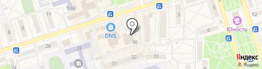 Магазин канцелярских товаров на карте Шелехова