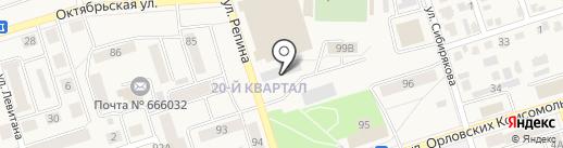 Строитель на карте Шелехова