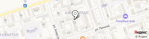 Лайм на карте Шелехова