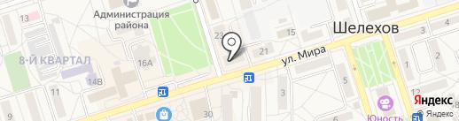 Эко-хим на карте Шелехова