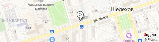 Аптека.ру на карте Шелехова