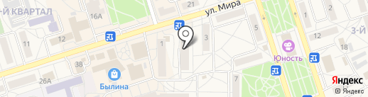 Практик и Тактик на карте Шелехова