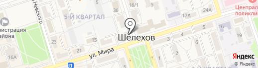 Пластмасыч на карте Шелехова