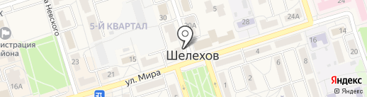 Пивная марка на карте Шелехова