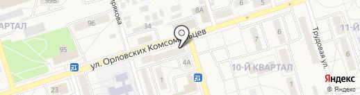 Фабрика окон и дверей на карте Шелехова