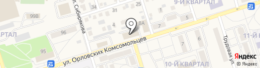 Стройбыт на карте Шелехова