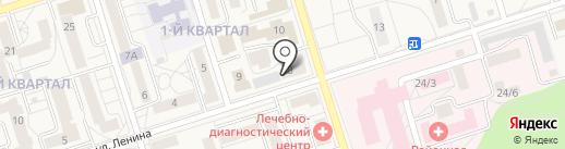 Участковый пункт полиции №6 на карте Шелехова