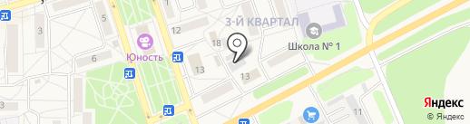 Олия на карте Шелехова
