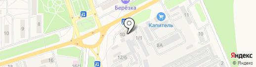 БИС на карте Шелехова