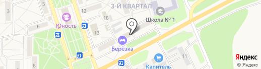 Магазин авто и велозапчастей на карте Шелехова