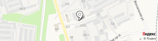 Янова на карте Шелехова