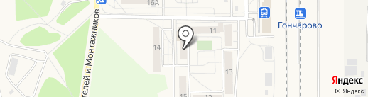 Библиотека на карте Шелехова