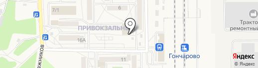 Горизонт на карте Шелехова