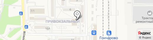 Центровой на карте Шелехова