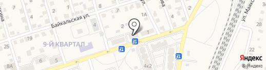 Семерка на карте Шелехова