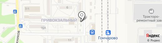 Центр на карте Шелехова