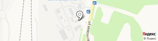 АвтоМега на карте Шелехова