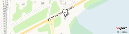 Байкал-АвтоТрак-Сервис на карте Шелехова