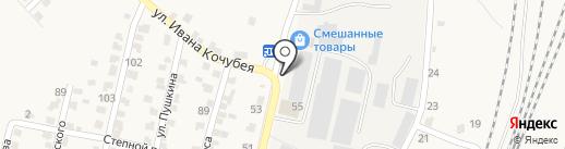 Продуктовый киоск на карте Шелехова